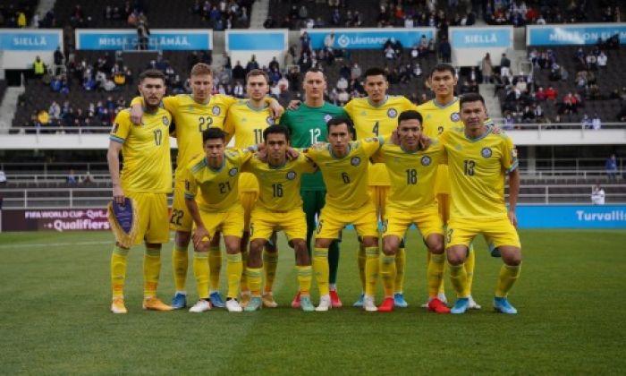 Сборная Казахстана улучшила положение в рейтинге ФИФА