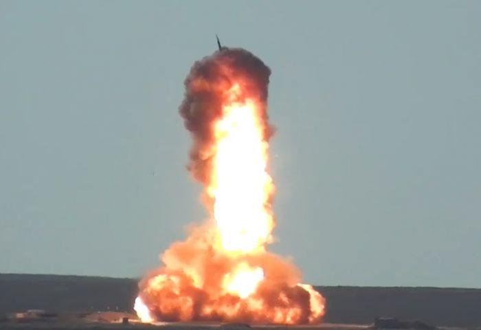 С полигона Сары-Шаган запущена новая российская противоракета системы ПРО
