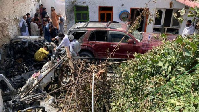 США признали, что их беспилотник по ошибке убил в Кабуле мирных афганцев