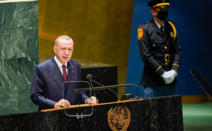 Эрдоган заявил в ООН об «аннексии Крыма»