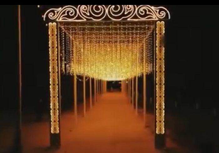 В Актау установили инсталляцию «Звёздное небо» за 43 миллиона тенге