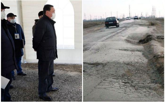 Инспектируя «астраханскую» трассу, премьер-министр предпочёл автомобилю вертолёт
