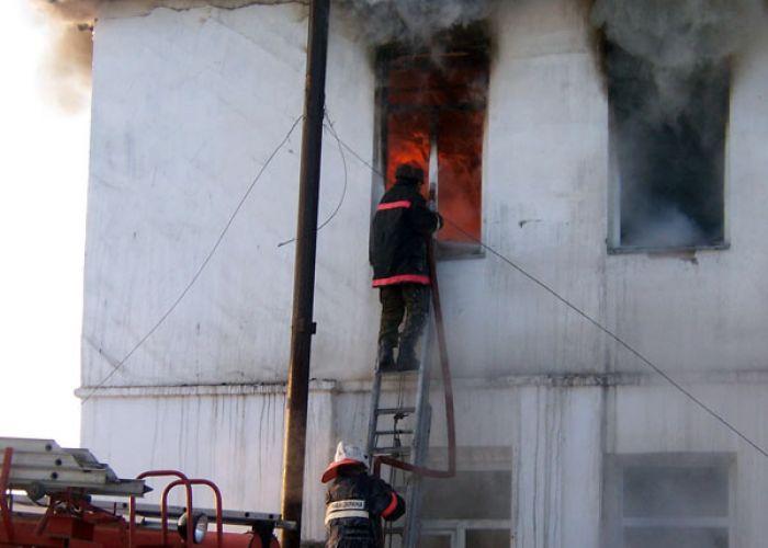 Пожар в Кульсары унёс две жизни