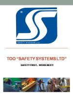 ТОО «SAFETY SYSTEMS LTD» (Сайфти Системс ЛТД)