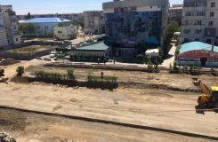 Расширение дорог в Атырау