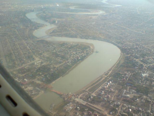 Рухнувший мост Мечникова-Баймуханова. Трагедия 11.09.2009 г.
